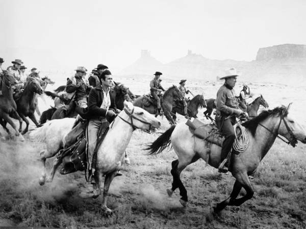 Photograph - Film: The Comancheros by Granger