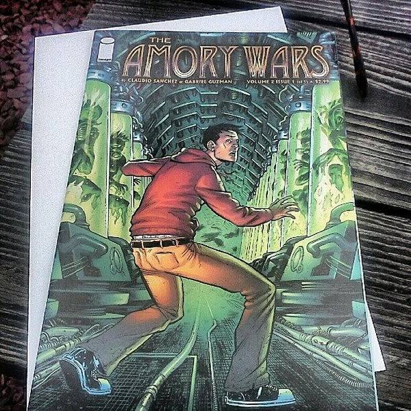Comics Wall Art - Photograph - Finally Getting To Read The #amorywars by Briana Ramirez