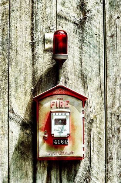Fire Department Photograph - Fire Alarm by HD Connelly