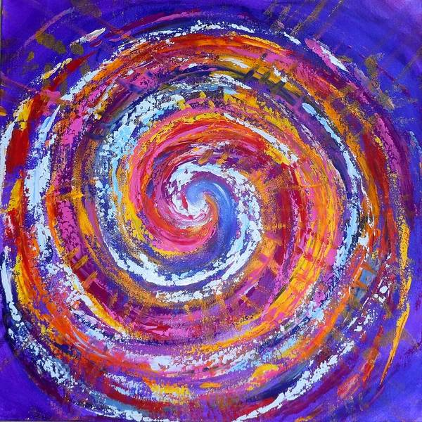 Painting - Fire And Water 2 by Deborah Brown Maher
