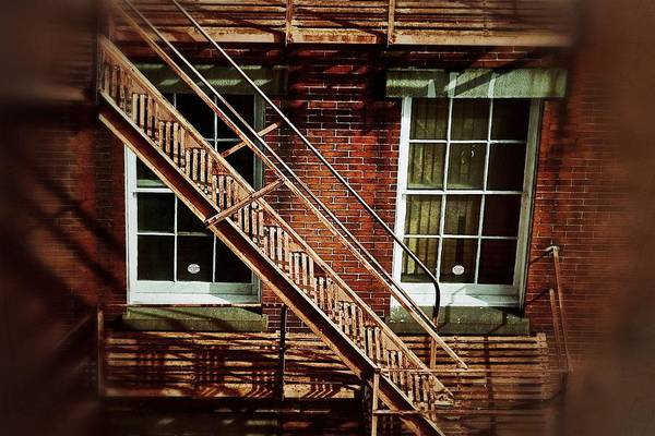 Photograph - Fire Escape by Jim Albritton