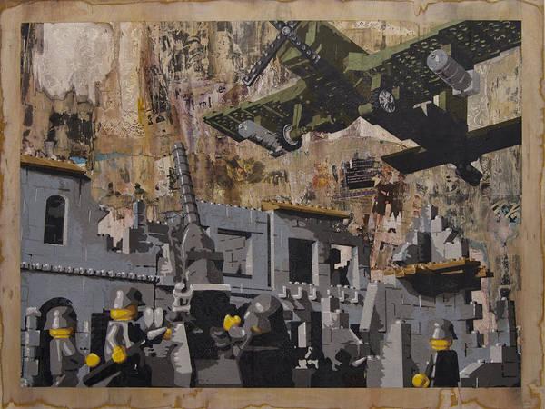 Corsair Painting - Fire by Josh Bernstein