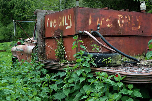 Photograph - Fire Only by Lorraine Devon Wilke