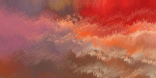 Digital Art - Fire Sky by Wally Boggus