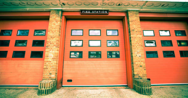Fire Department Photograph - Fire Station by Tom Gowanlock