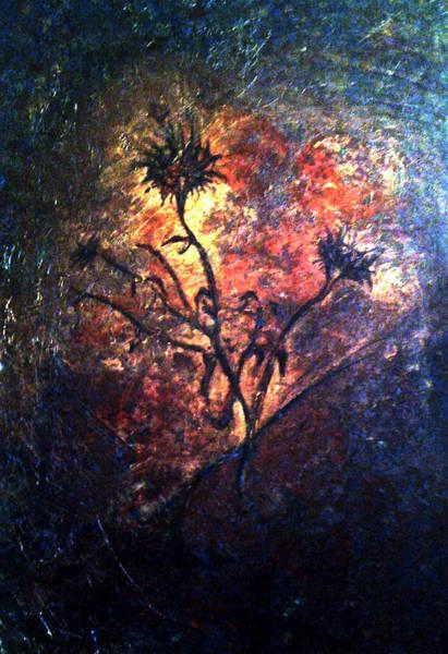 Fire Weeds Art Print