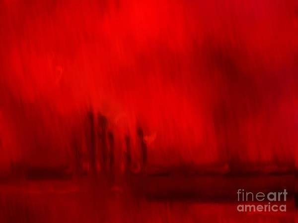 Painting - Firestorm by Pet Serrano