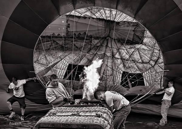Photograph - Firing The Burners by Bob Orsillo