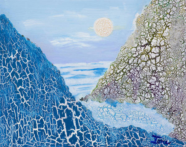 Ione Painting - First Frost by Ione Citrin