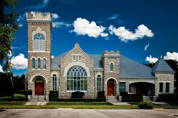 Photograph - First Presbyterian Church Of Eustis by Christopher Holmes