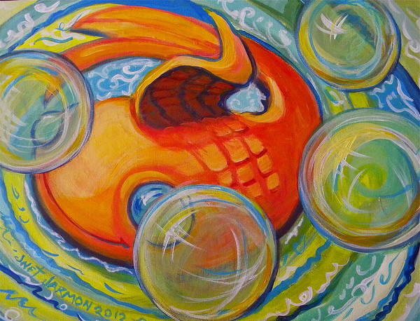 Painting - Fish Fun by Jeanette Jarmon