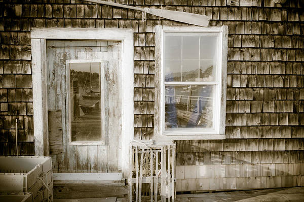 Photograph - Fish House by At Lands End Photography