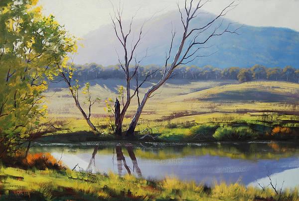 Reflection Painting - fish River Tarana by Graham Gercken