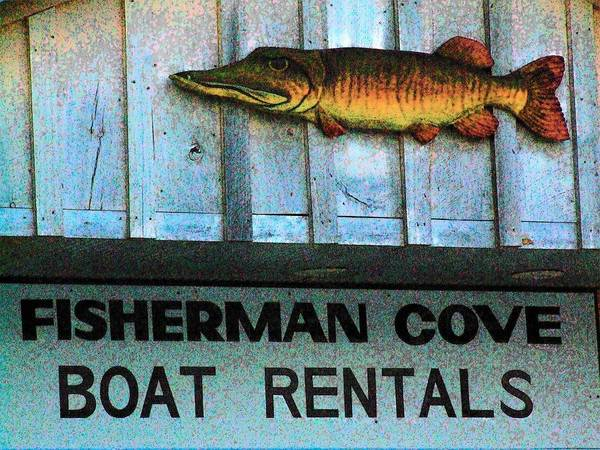 Wall Art - Photograph - Fisherman Cove Fish by Michael L Kimble