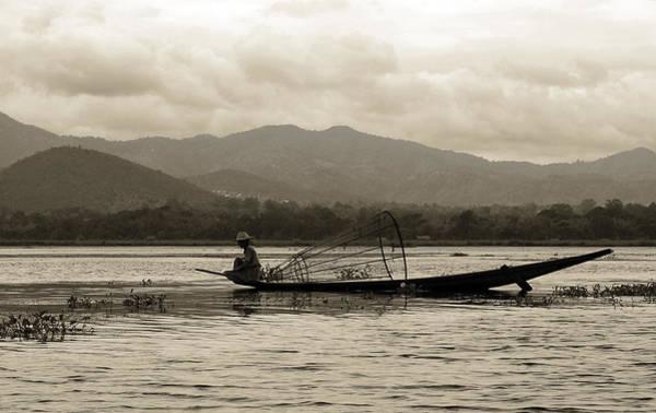 Photograph - Fisherman On Inle Lake by RicardMN Photography