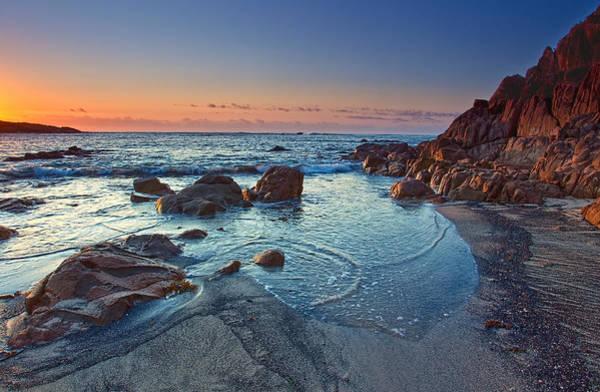 Photograph - Fishermans Bay Sunrise by Paul Svensen