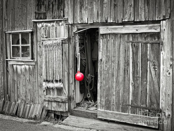 Photograph - Fishermans Shed by Lutz Baar