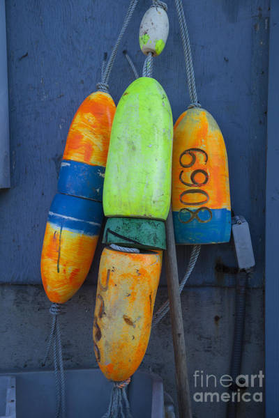 Port Townsend Photograph - Fishermen's Buoys by Timothy Johnson