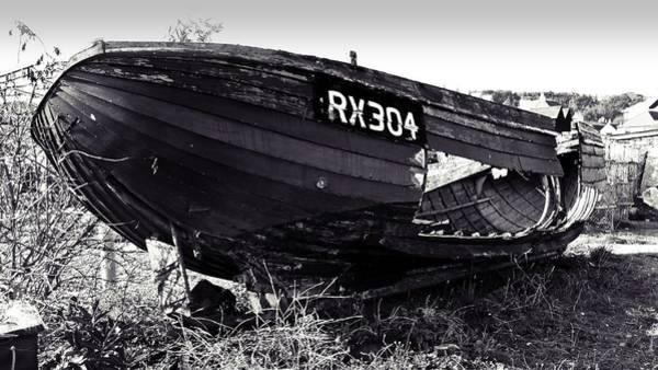 Shipwreck Digital Art - Fishing Boat Wreck by Sharon Lisa Clarke