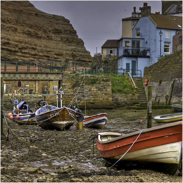 Work Boat Photograph - Fishing Boats by Nigel Jones