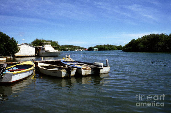 Photograph - Fishing Boats Paguera by Thomas R Fletcher