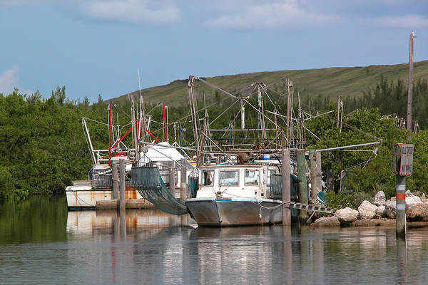 Photograph - Fishing Harbor by Rudy Umans