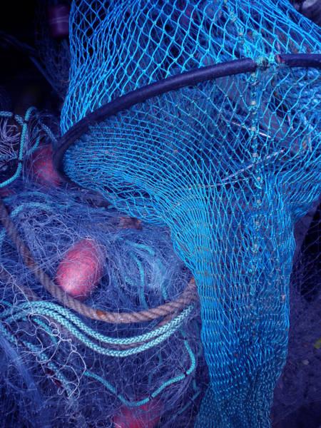 Photograph - Fishing Robe Net  by Colette V Hera  Guggenheim
