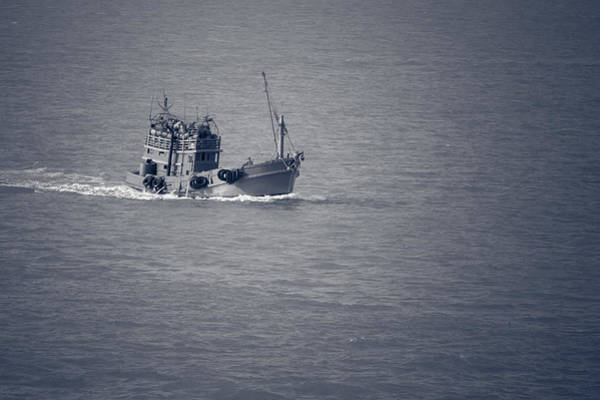 Photograph - Fishing Vessel by Ray Shiu