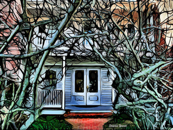 Wall Art - Digital Art - Five Gables Inn Of St Michaels by Stephen Younts