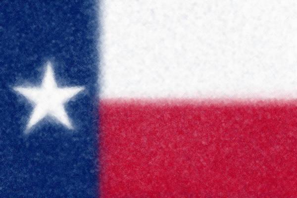 Wall Art - Digital Art - Flag Of Texas by Cristophers Dream Artistry