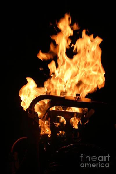 Flammable Wall Art - Photograph - Flames by Henrik Lehnerer
