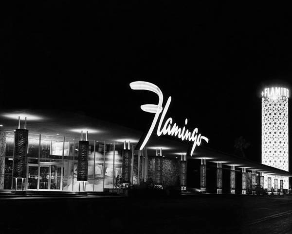 Wall Art - Photograph - Flamingo Hotel, Las Vegas, Nevada by Everett