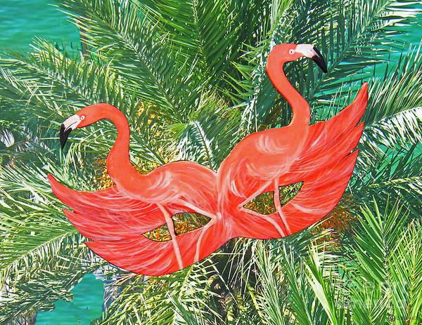 Photograph - Flamingo Mask 4 by Lizi Beard-Ward