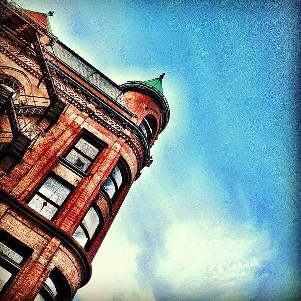 Wall Art - Photograph - Flat Iron Building by Christopher Campbell