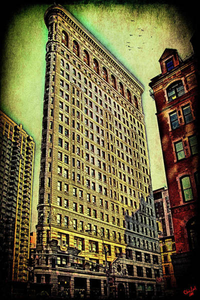 Photograph - Flatiron Building Again by Chris Lord