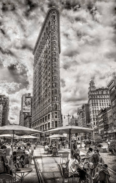 Photograph - Flatiron Building Hdr by Steve Zimic