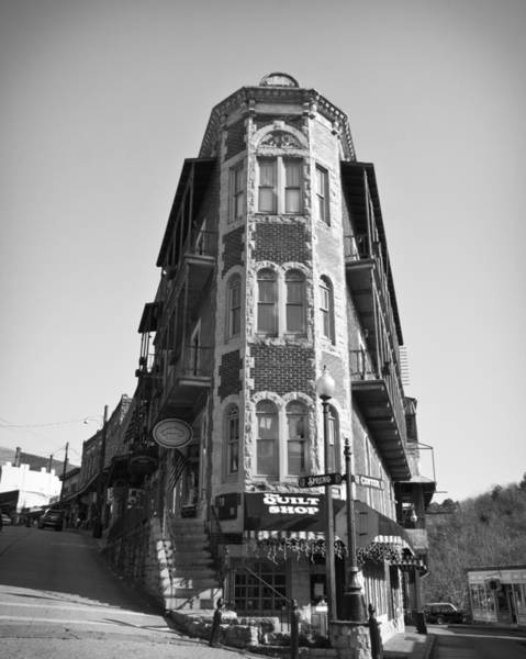 Eureka Springs Photograph - Flatiron by David Waldo