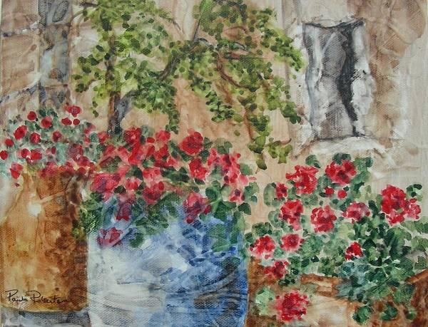 Painting - Fleurs De France by Paula Robertson