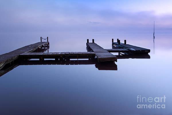 Niebla Wall Art - Photograph - Floating Platform by David Gimenez Aldalur