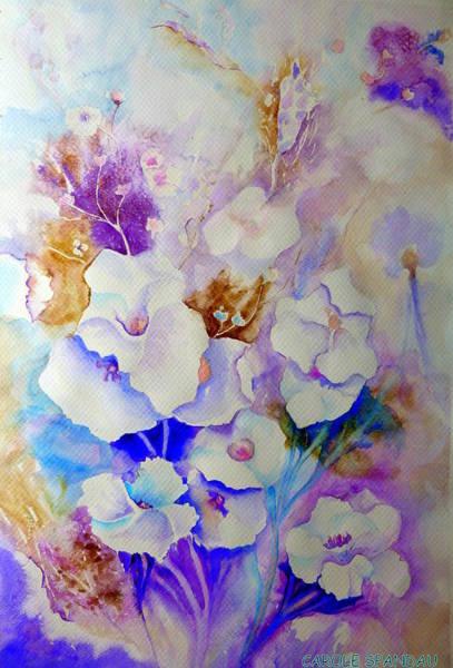 Painting - Floral Bouquet by Carole Spandau