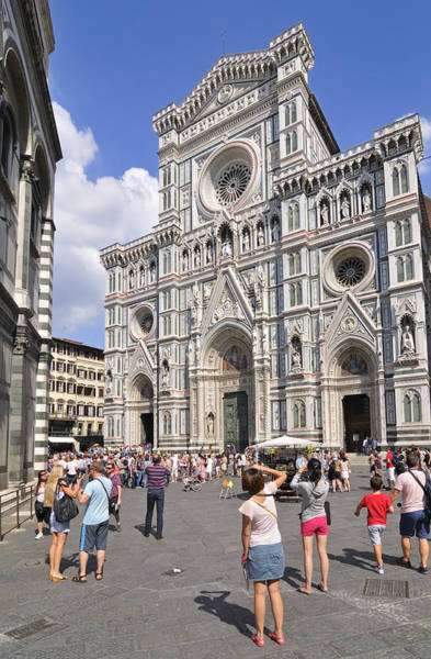 Photograph - Florence Cathedral - Tuscany Italy by Matthias Hauser