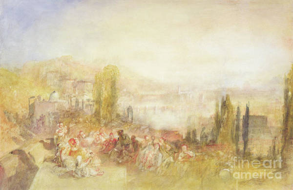 Wall Art - Painting - Florence by Joseph Mallord William Turner