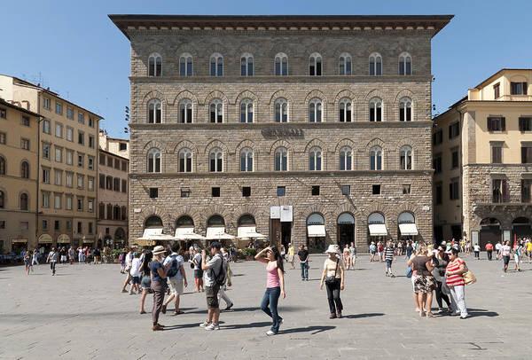 Photograph - Florence Piazza Della Signoria by Matthias Hauser