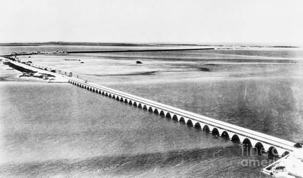 Photograph - Florida: Overseas Bridge by Granger