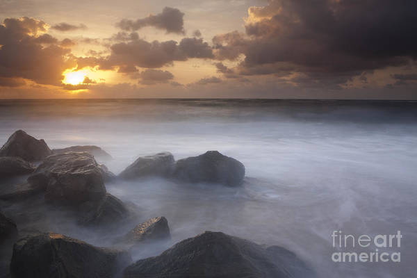 Boynton Photograph - Florida Sunrise by Keith Kapple