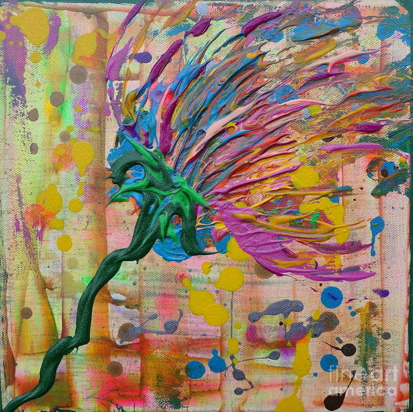 Painting - Flower 3 by Jacqueline Athmann
