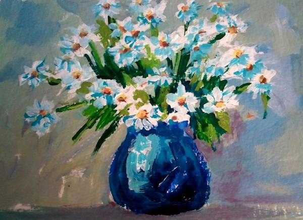 Painting - Flower Arrangement IIi by Patricia Awapara