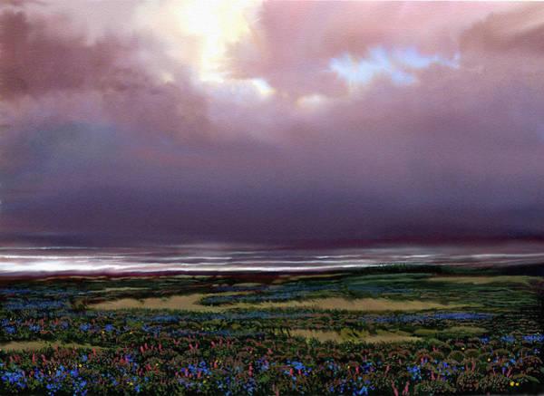 Wall Art - Painting - Flower Beach by Robert Foster