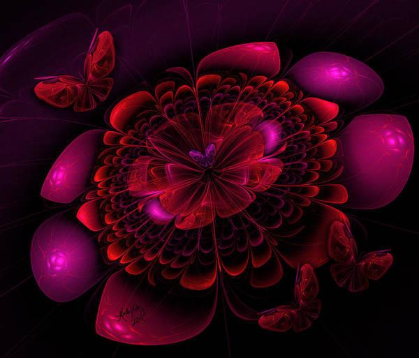 Digital Art - Flower Burst by Karla White