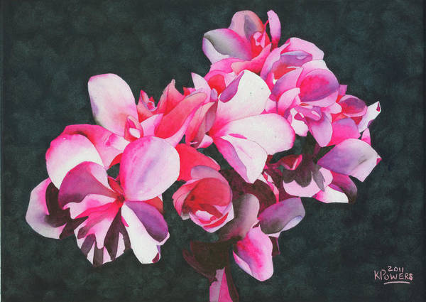 Painting - Flower Cluster by Ken Powers